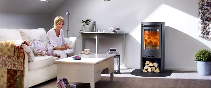 poele a bois contura 510s chaleur bois 38. Black Bedroom Furniture Sets. Home Design Ideas