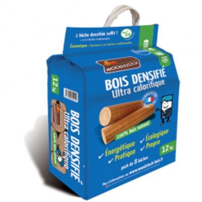 sac bois densifie woodstock - chaleur bois - chatte isère